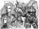 Black Widow Sketch