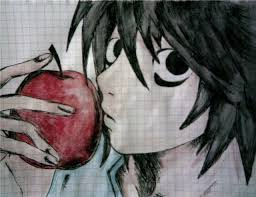 L Death Note by ScarPandita2345678