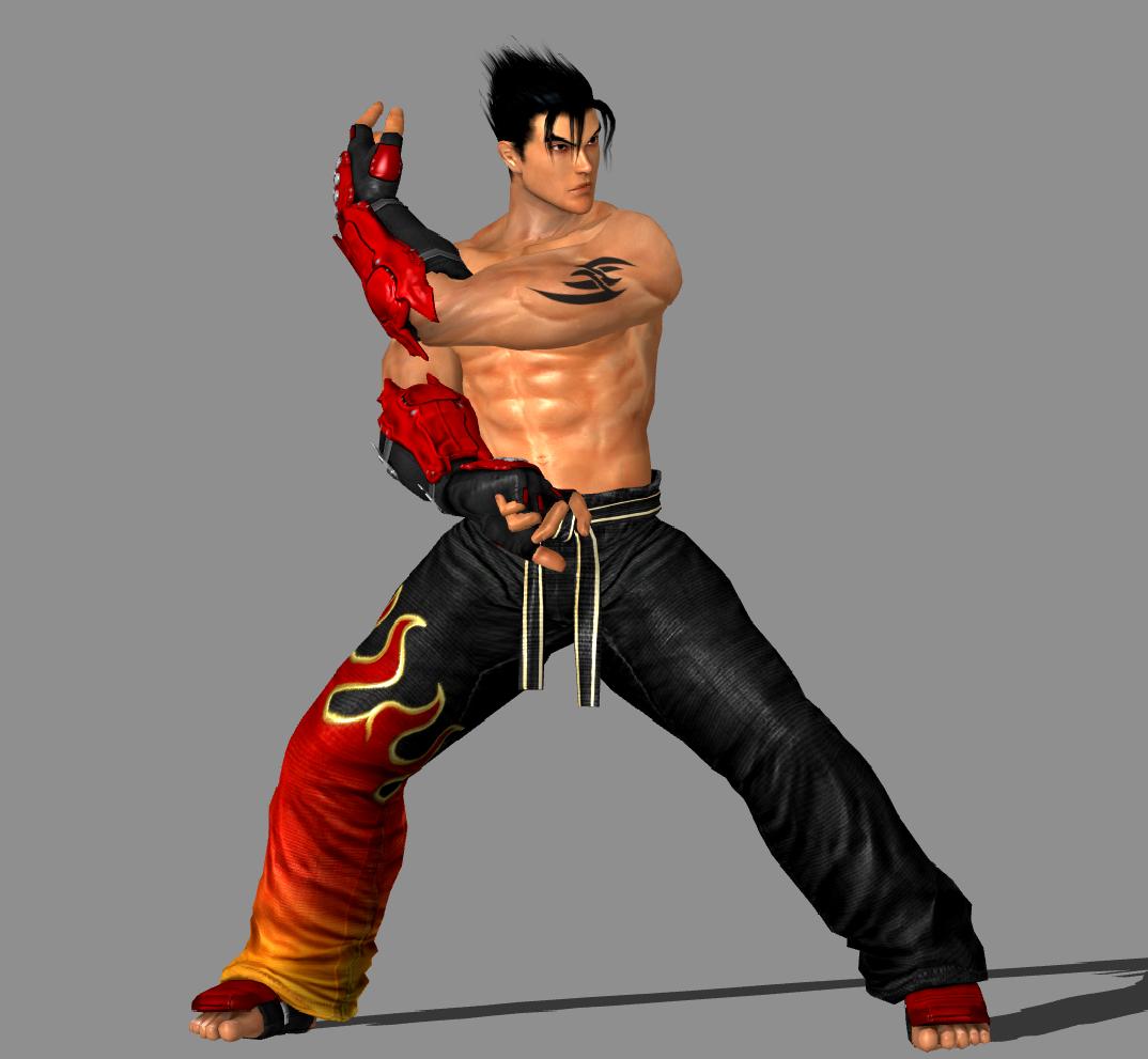 Tekken 6 Jin Kazama Tekken 5 Promo Image Pose By Iheartibuki On