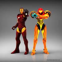 Iron Man X Samus