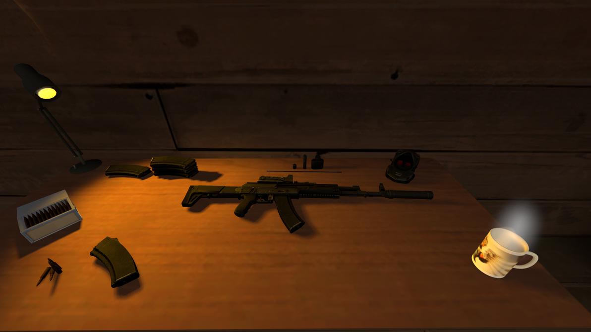 [SFM] AK-12 Clean + Load by NyxOsiris