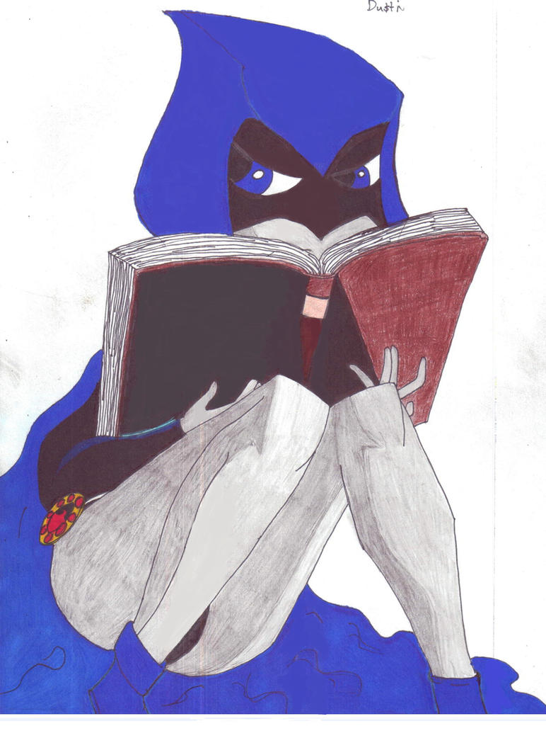 Teen Titans - Raven by ATAtLASWPJatO