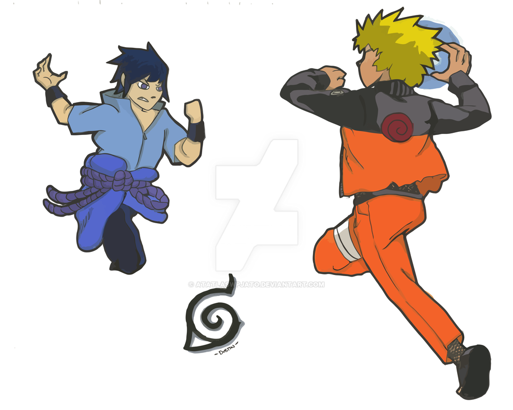 Naruto stickers by atatlaswpjato