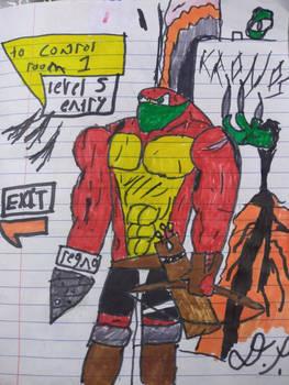 regnoart's hyrald character WIP 2