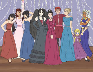 Prom Round 13 by LadyLing