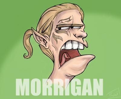 Convenient Morrigan Troll by flyingflea
