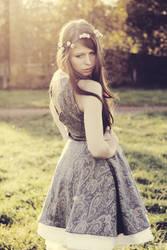 the girl of the sun by AgiiDrawings