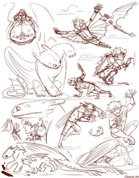 Nightfall Sketches