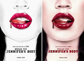 Jennifer's Body Replica Poster by Guyom