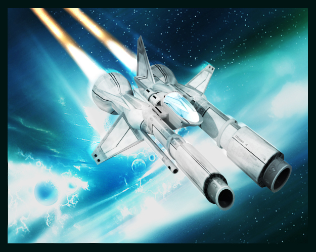 Space Ship. Fighter, Caza
