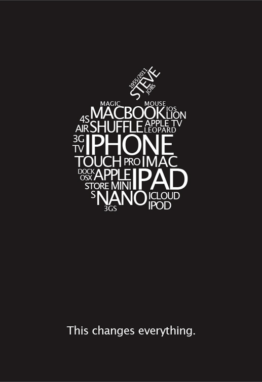 Poster Tribute Steve  Jobs by lKaos