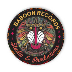 Baboon Records Studio And Production Logo by lKaos