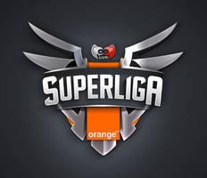 Logo Design Super Liga Orange