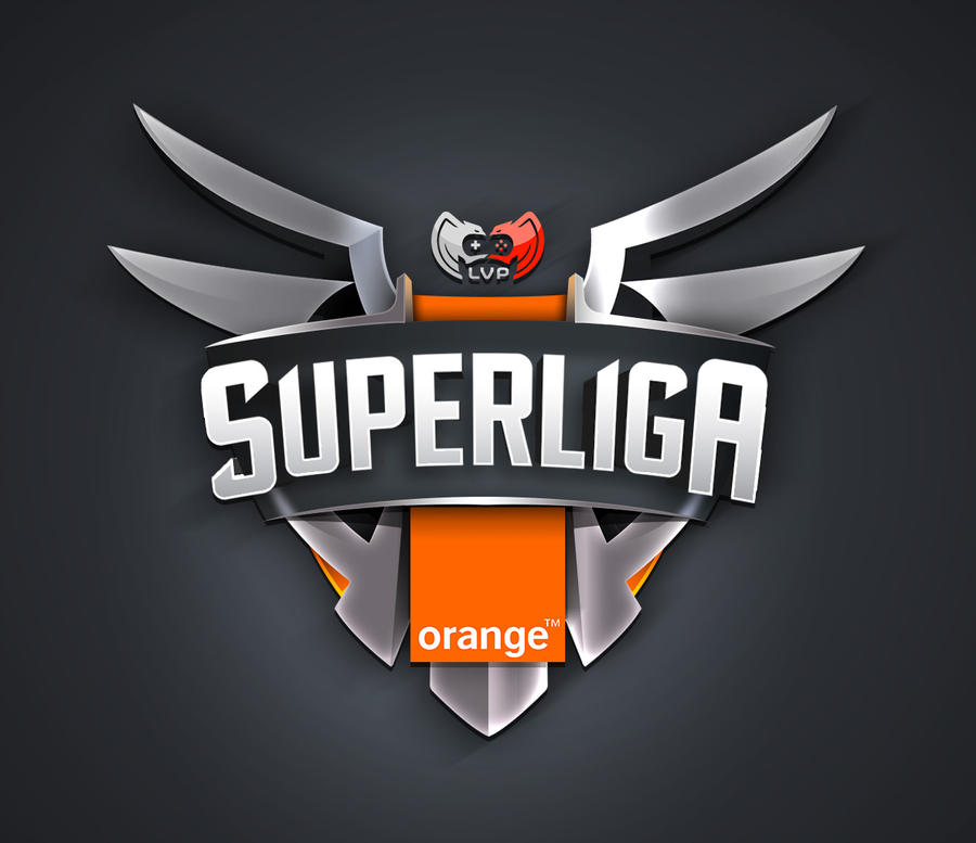 Logo Design Super Liga Orange by lKaos