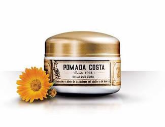 Packaging design 'Pomada Costa'