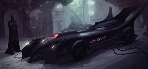 Batmobil by Bamoon
