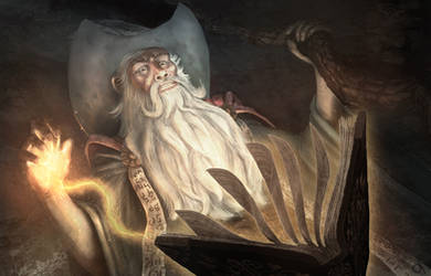 The Wizard by Bamoon
