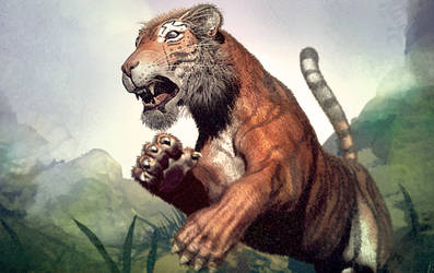 TigerJump by Bamoon