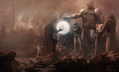 Darkseid- by Bamoon