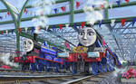 Queen's train