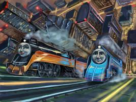 Skyrace (Americano steampunk)