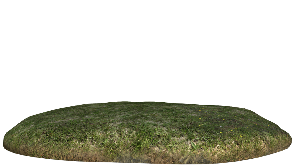 Grass mound by freyasmith on deviantart for Mounding grass