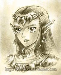 Zelda OoT Portrait