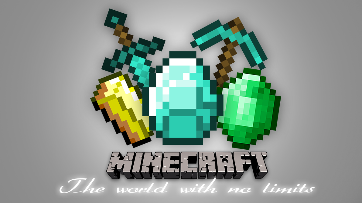 Minecraft no limits wallpaper by coperaxe