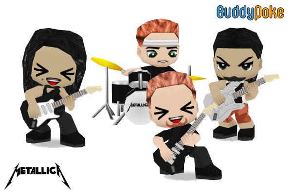 Metallica - BuddyPoke by BuddyPokeART