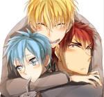 the traffic light trio
