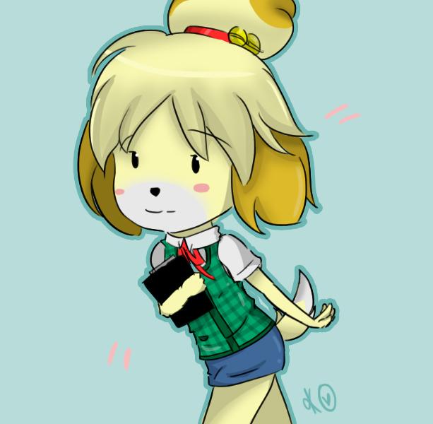 Isabelle (Animal Crossing) by kazukagamine on DeviantArt