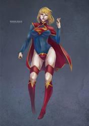 Supergirl by MonoriRogue