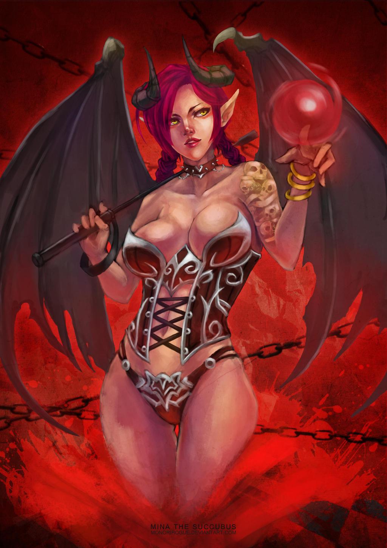 Demonic woman hentai sexual sexgirl