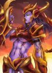Shyvana - The half-dragon