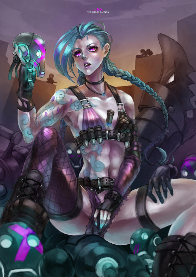 jinx the loose cannon by monorirogue on deviantart