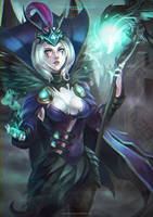 Ravenborn Leblanc by MonoriRogue