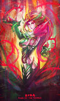 Doodle - Zyra by MonoriRogue