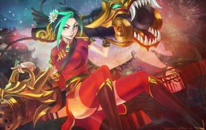 Firecracker Jinx by MonoriRogue