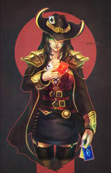 Twisted Fate by MonoriRogue