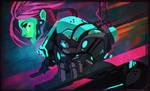Cyberpunk doodle