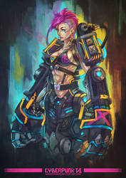 Cyberpunk VI by MonoriRogue