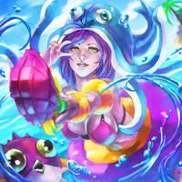 Pool Party LULU by MonoriRogue