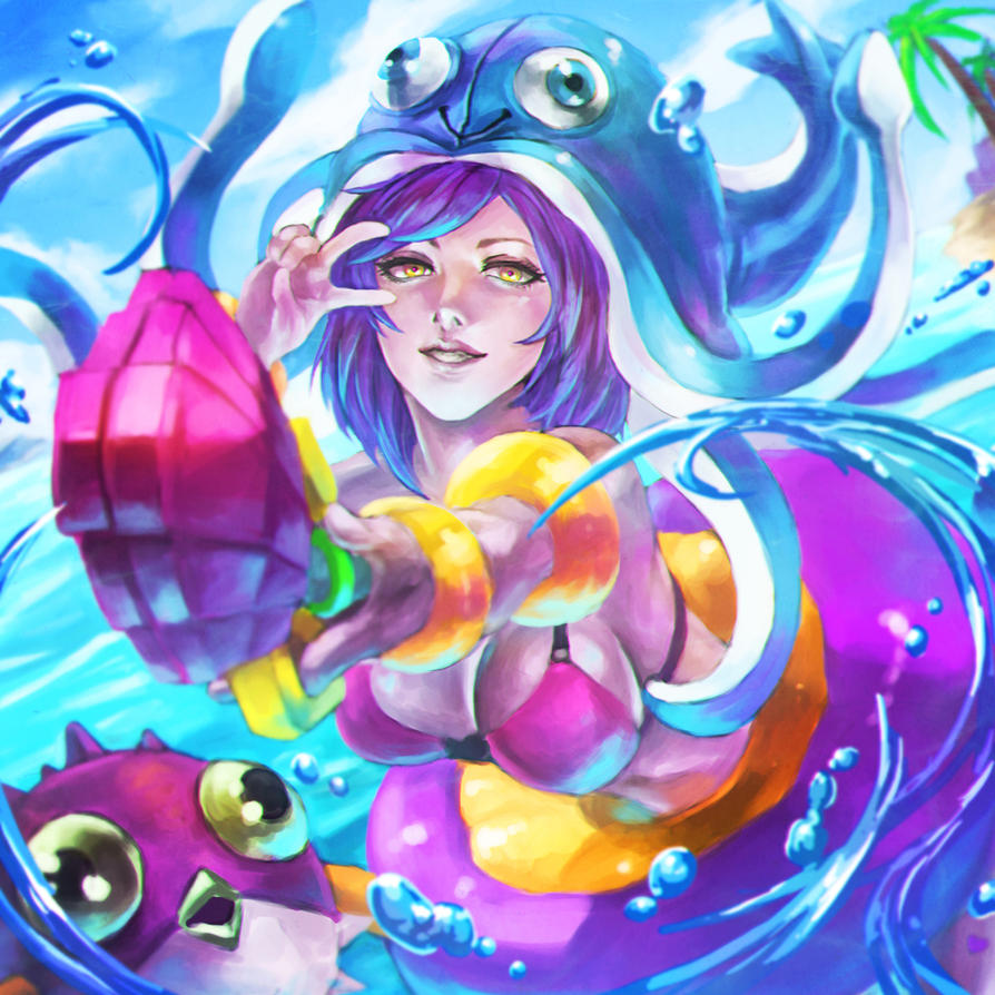 pool party lulu by monorirogue on deviantart