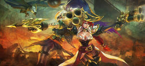 Captain Miss Fortune x Corsair Quinn