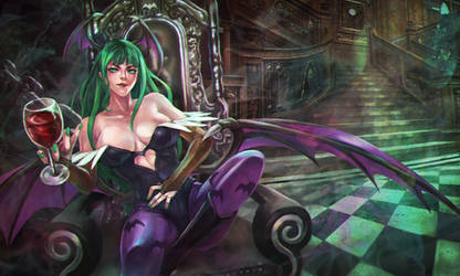 Commission - Morrigan