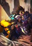 Overwatch Tracer/Widowmaker