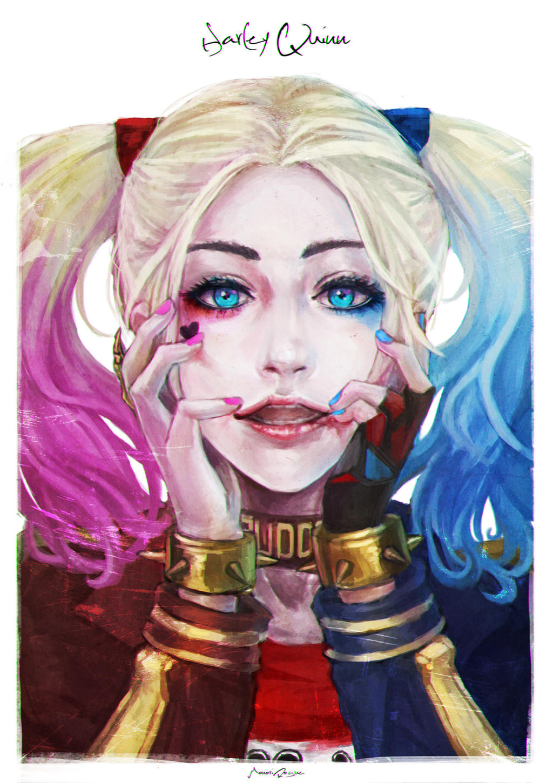 Harley Quinn Drawing: Harley Quinn By MonoriRogue On DeviantArt