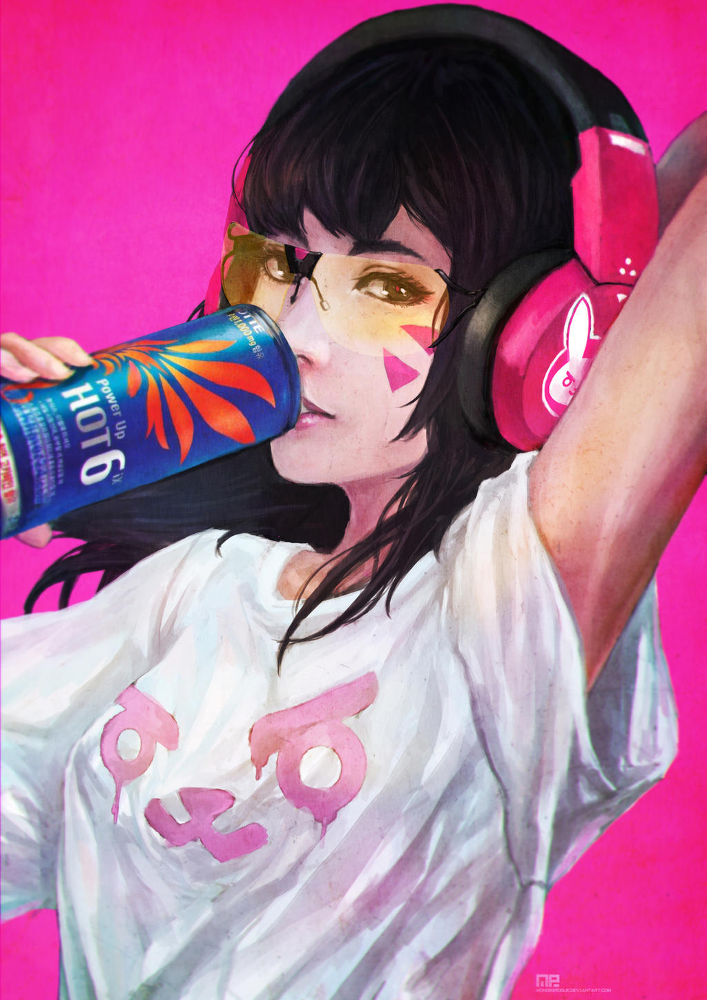 casual d va by monorirogue on deviantart
