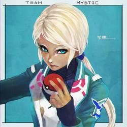 Team Mystic by MonoriRogue
