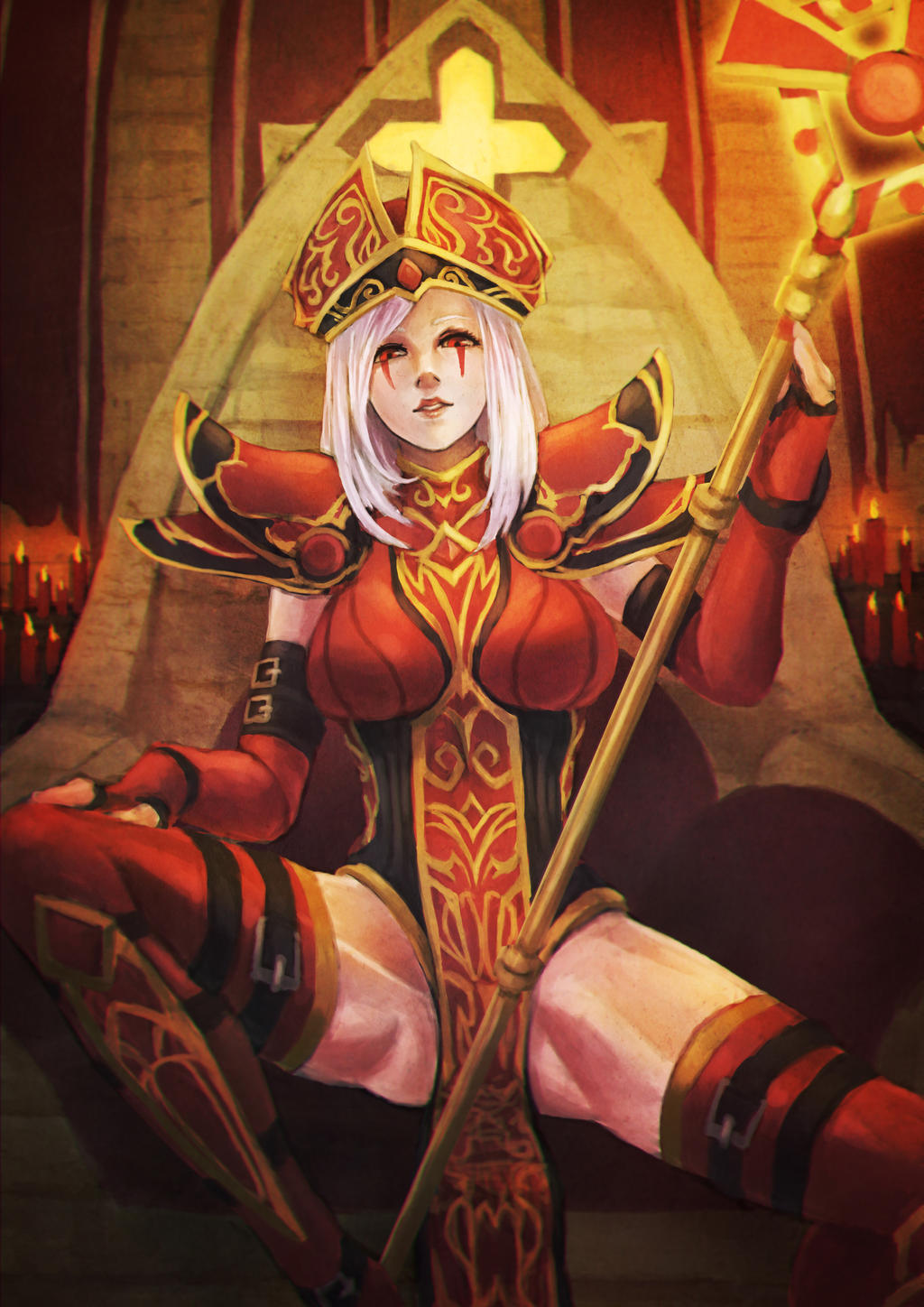 sally whitemane by monorirogue on deviantart